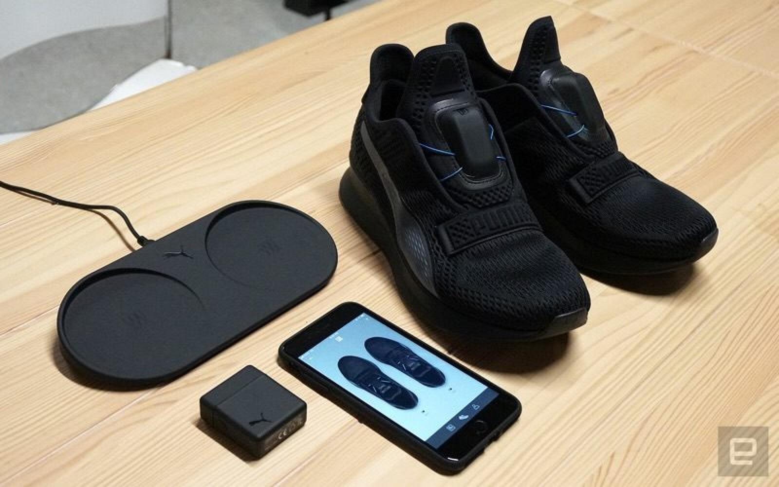 Puma Fi Self Tying Shoes Wireless Charging