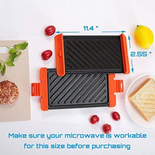 Maconee Microwave Sandwich Grill Maker 7