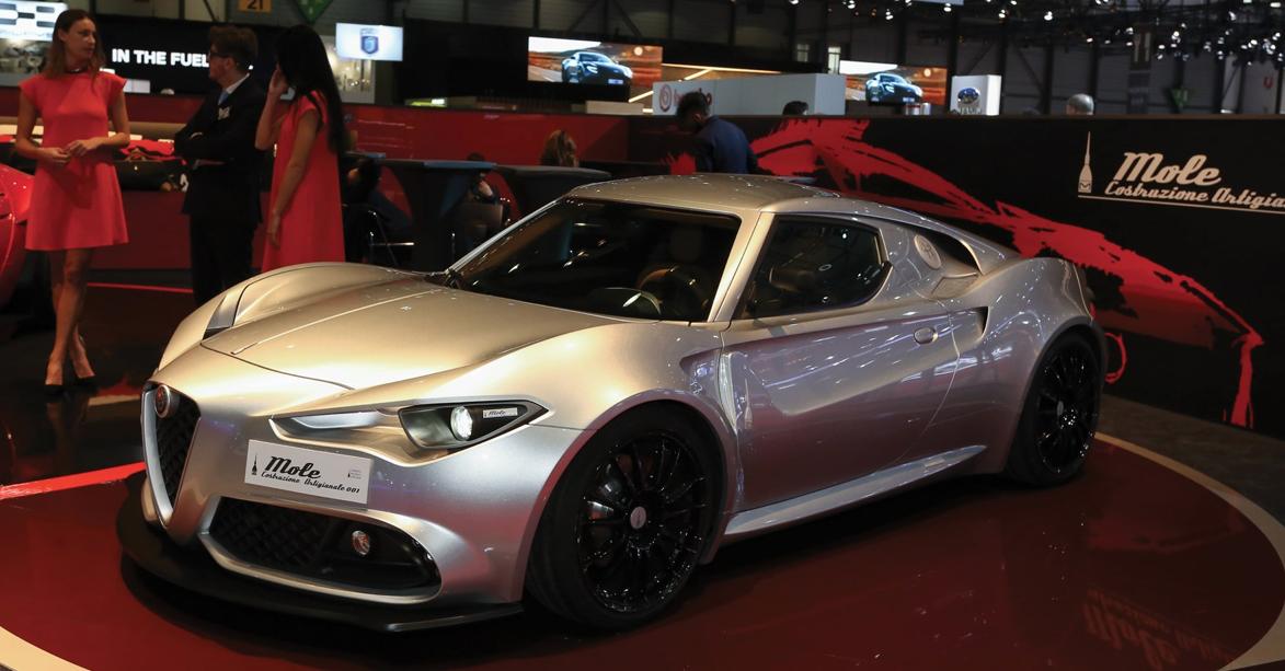 Alfa Romeo Mole Costruzione Artigianale 001 -11