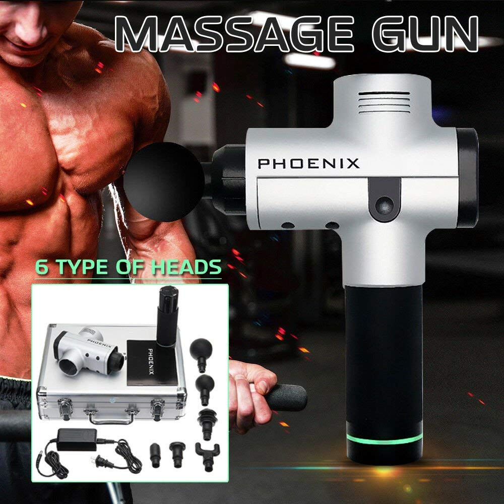 Phoenix Portable Rechargeable Percussion Massager 3