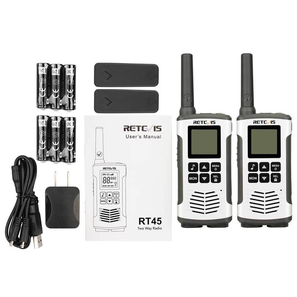 Retevis RT45 Package Contents