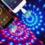 USB Lightning Micro USB USB-C Disco Ball 2