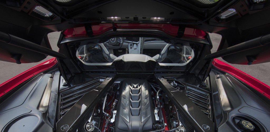 2020 Chevrolet Corvette C8 Stingray Engine Compartment