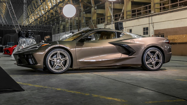 2020 Chevrolet Corvette C8 Stingray Gold