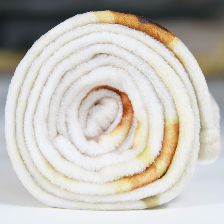 CASOFU Burrito Tortilla Throw Blanket 4