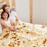 CASOFU Burrito Tortilla Throw Blanket 5