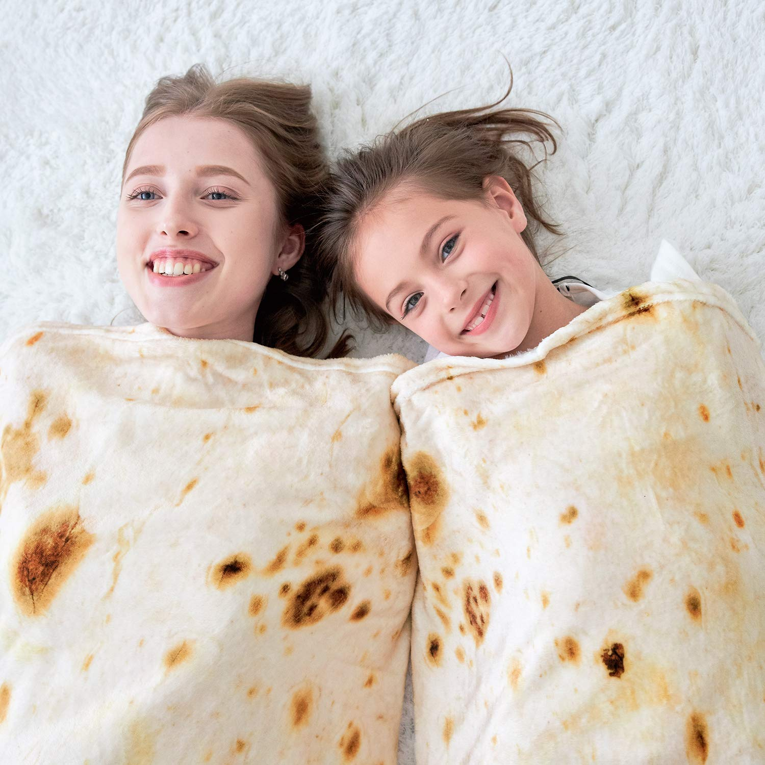 CASOFU Burrito Tortilla Throw Blanket 7