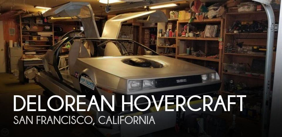 Delorean Hovercraft 12