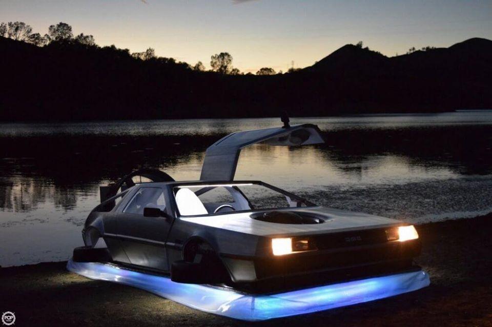 Delorean Hovercraft 3