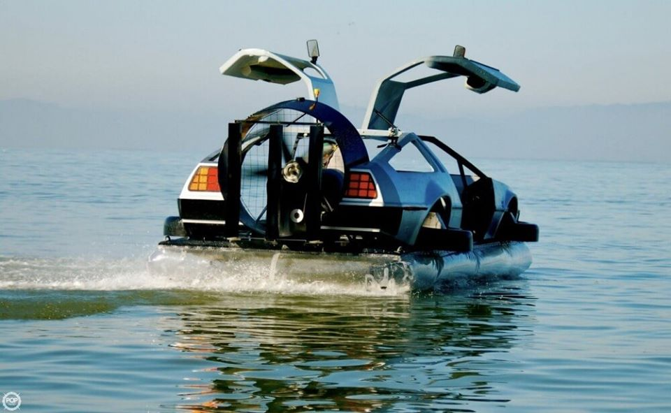 Delorean Hovercraft 5