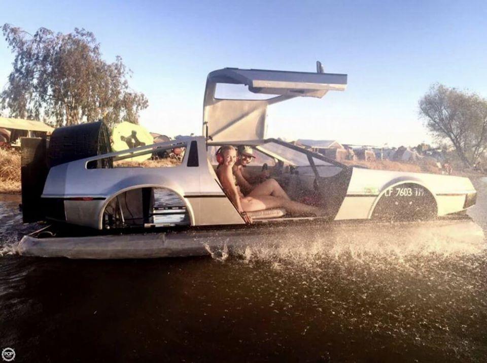 Delorean Hovercraft 8