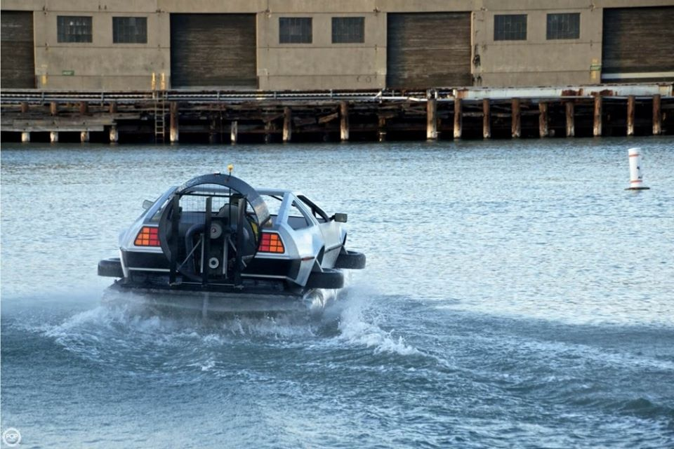 Delorean Hovercraft 9