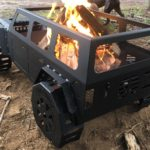 Fab Fours Jeep Fire Pit Black