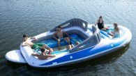 6-Person Inflatable Bay Breeze Boat Island