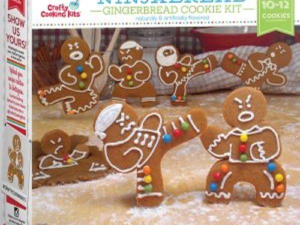 Ninjabread Ninja Gingerbread Cookie Kit