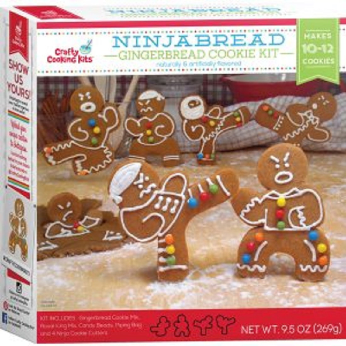 Ninjabread Ninja Gingerbread Cookie Kit