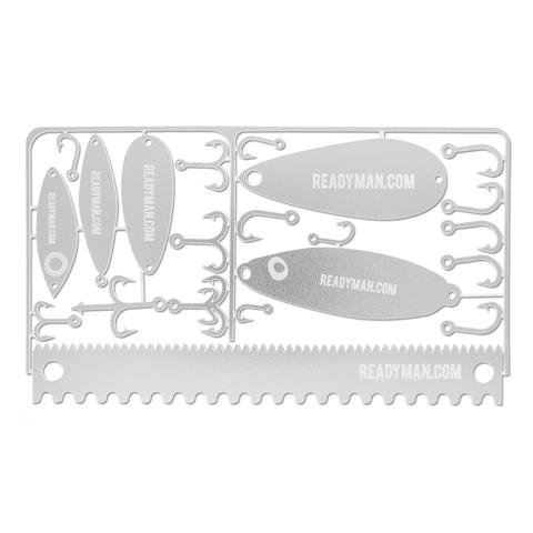 ReadyMan Survival Fisherman Card