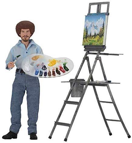 Bob Ross Action Figure