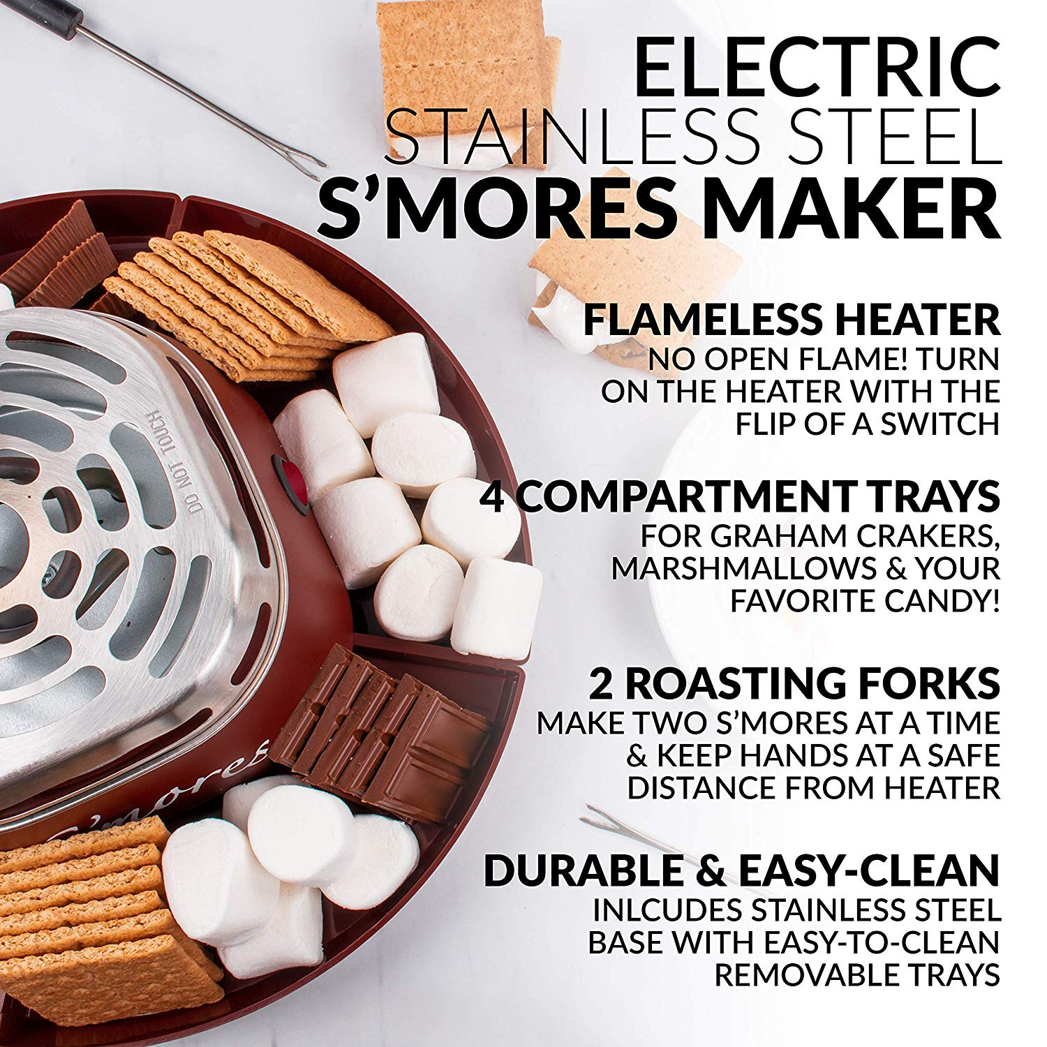 Nostalgia SMM200 Indoor Electric S'more Maker 2