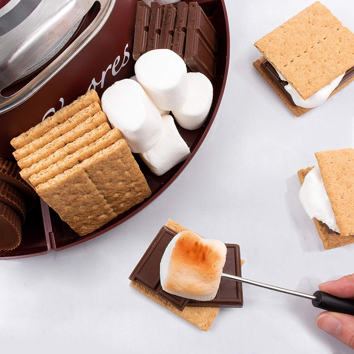Nostalgia SMM200 Indoor Electric S'more Maker 6
