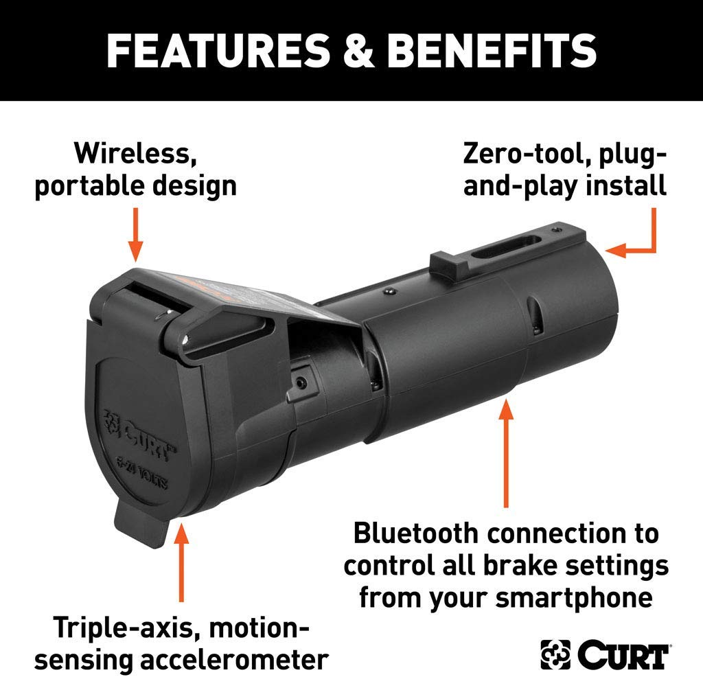 Curt Echo Wireless Mobile Brake Controller 3