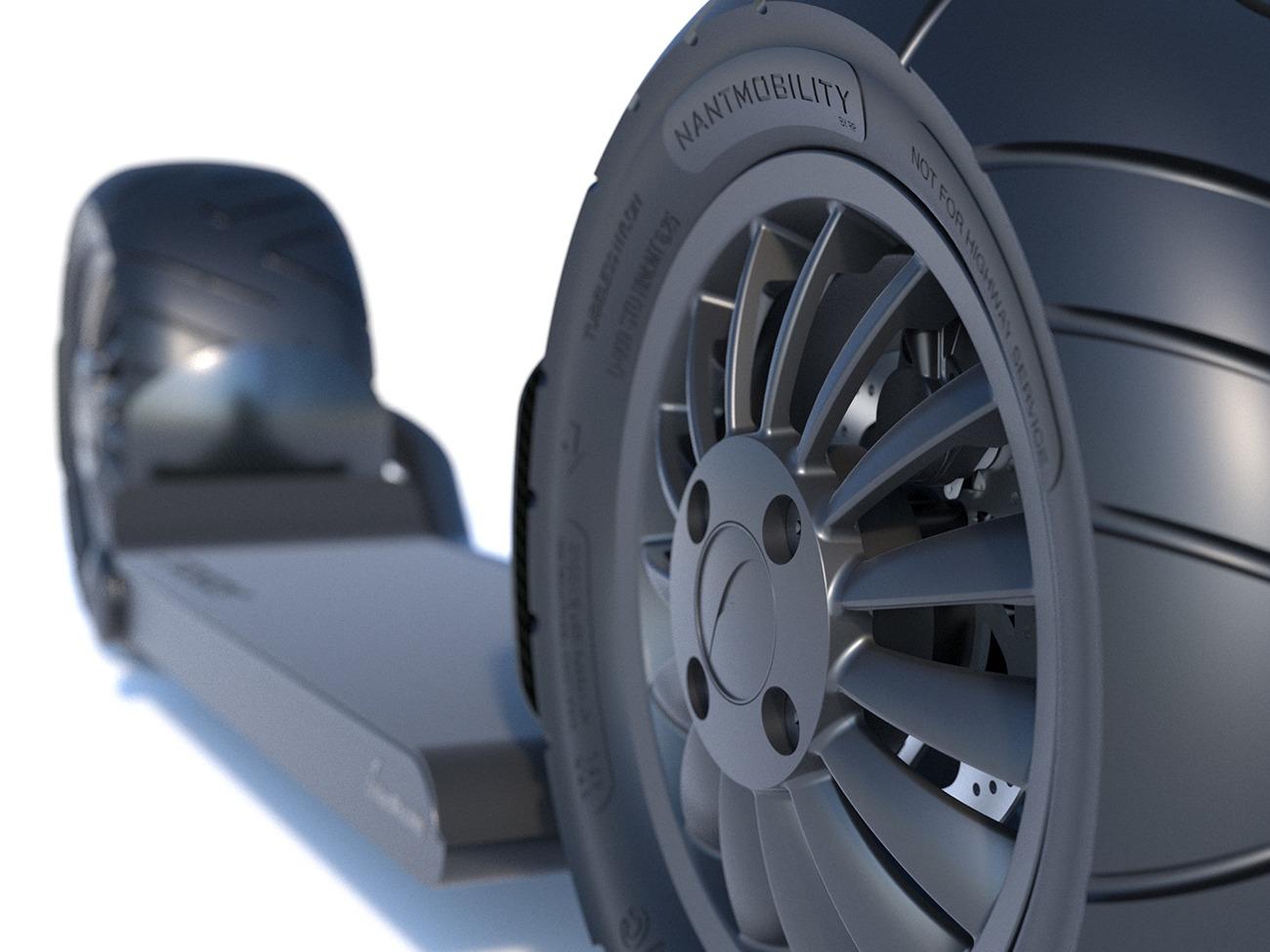 Stator Scooter fan-tire