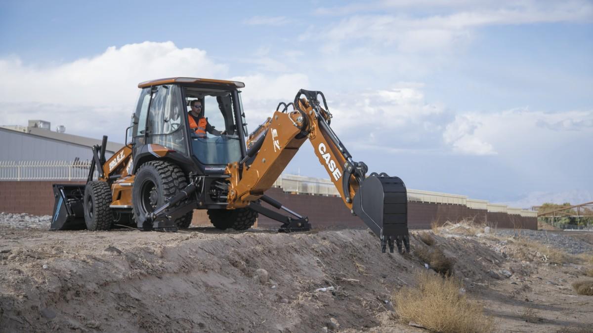 Case 580 EV Project Zeus