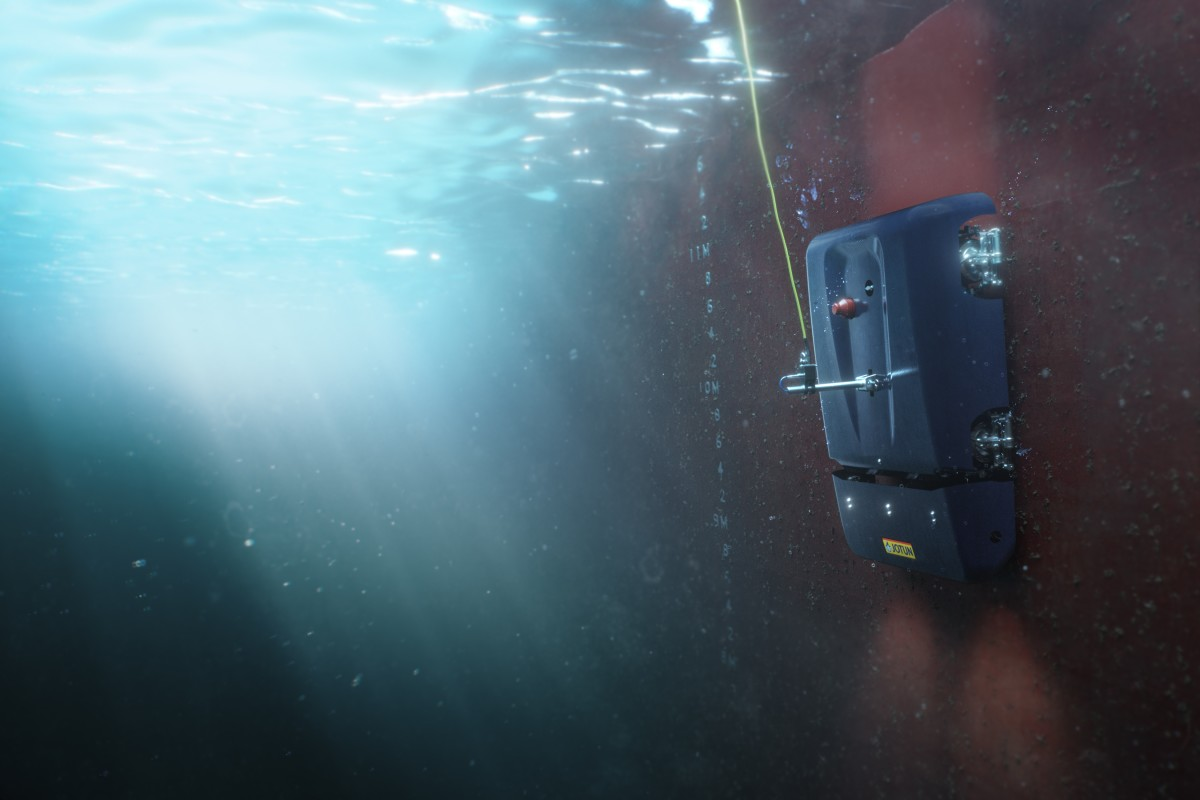 Jotun HullSkater Robot