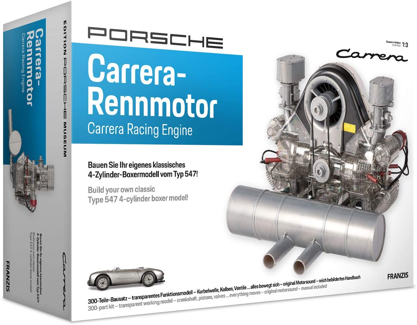 Porsche Carrera 547 1:3 Scale Engine Kit Box