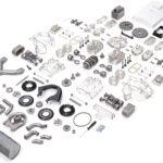 Porsche Carrera 547 1:3 Scale Engine Kit Parts