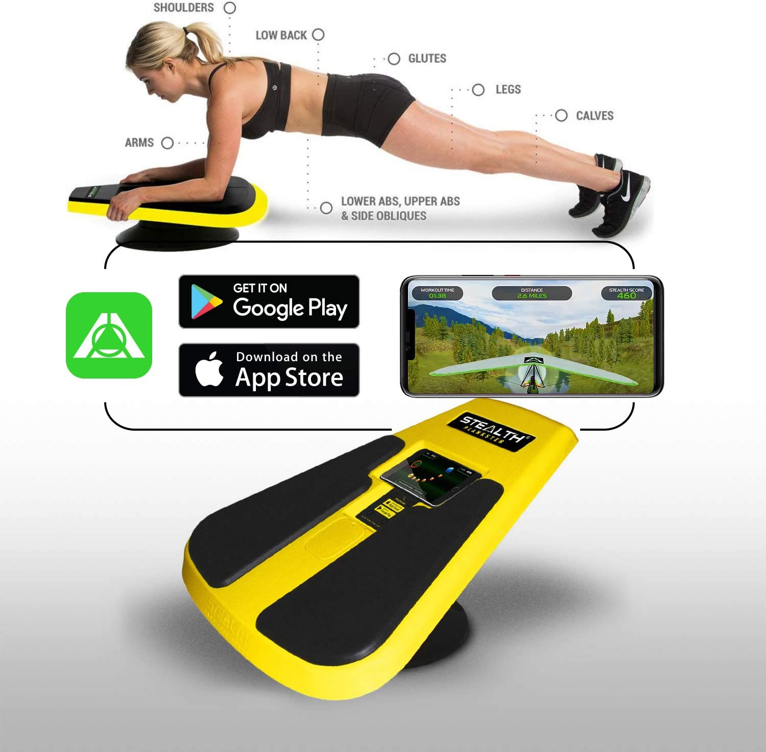 Stealth Core Trainer Plankster