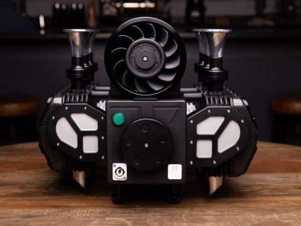 Super Veloce RS Black Edition Espresso Machine Back