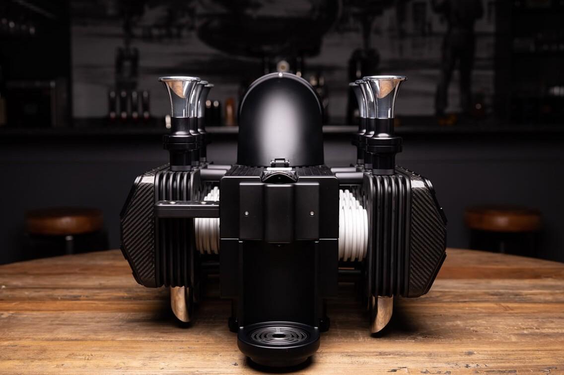 Super Veloce RS Black Edition Espresso Machine Front