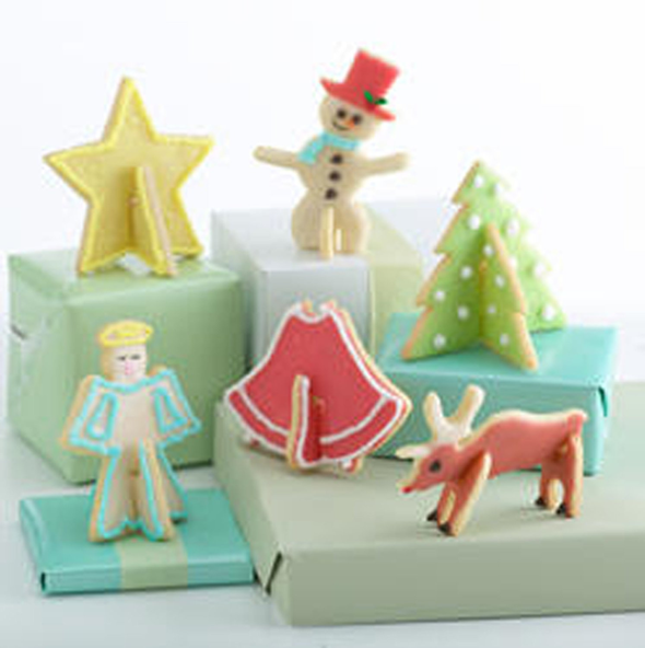 Nordic Ware 3D Holiday Cookie Cutters