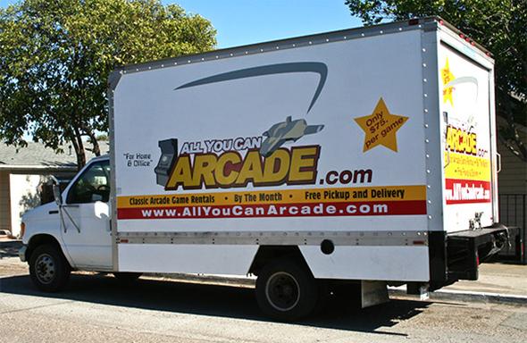 Classic Arcade Game Rentals