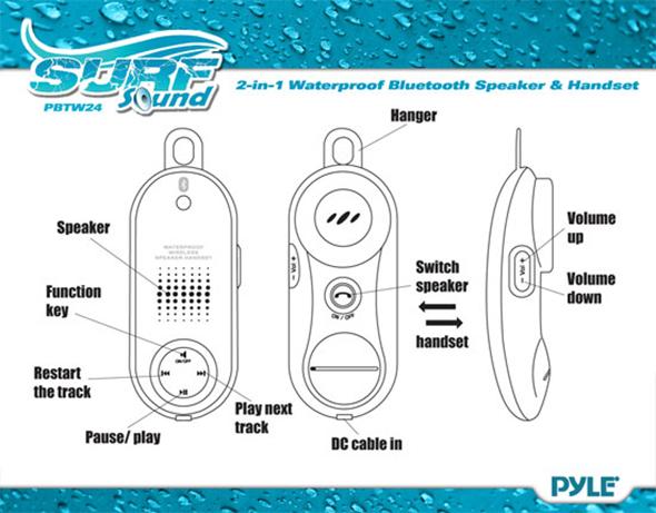 PBTW24 Waterproof Bluetooth Speaker Review
