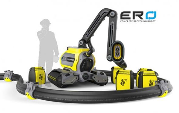 ERO Concrete Recycling Robot