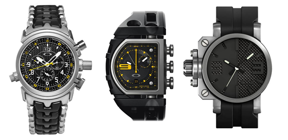 oakley mens watches