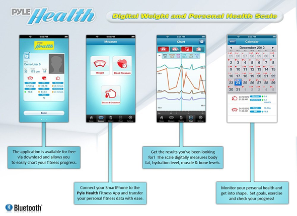 Pyle Health Scale App