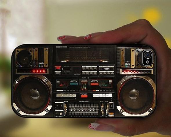Boombox Ghetto Blaster iPhone Case