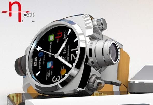 Hyetis Crossbow Watch With 41 Megapixel Camera