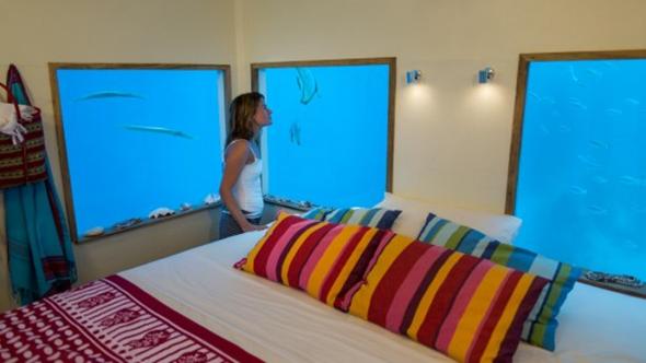Manta Resort Underwater Hotel Room