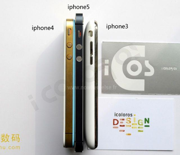 iPhone 5 Comparison Picture