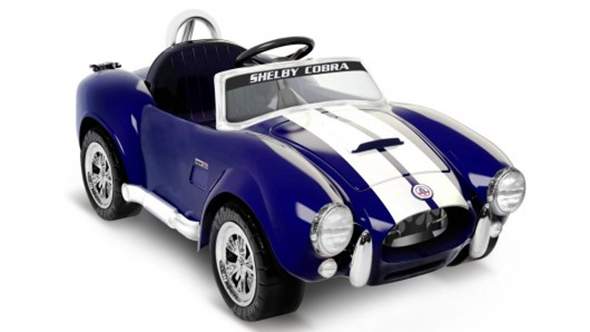 shelby cobra ride on kids car