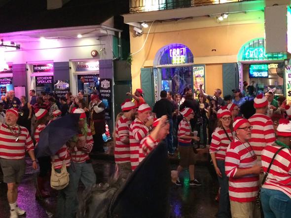 2013 New Orleans Halloween Waldo's