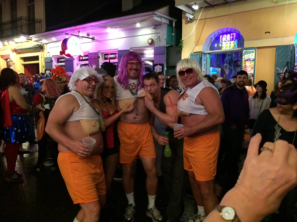 2013 New Orleans Halloween Hooters Costume