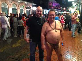 2013 New Orleans Halloween Russ and Tarzan