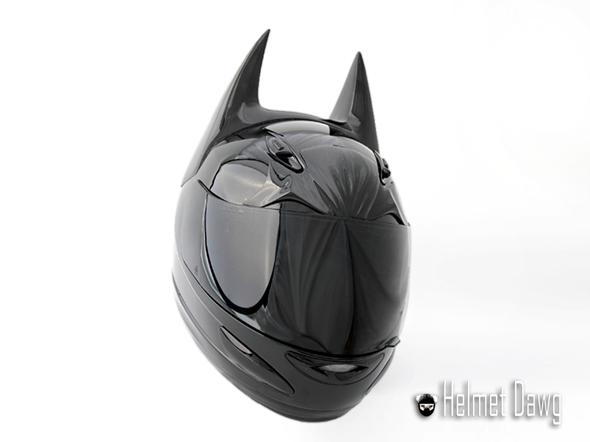 Dark Knight Motorcycle Helmet Front
