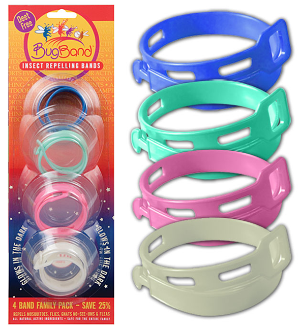 BugBand Insect Repelling Bands
