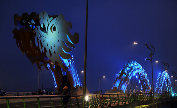 Vietnamese Dragon Bridge